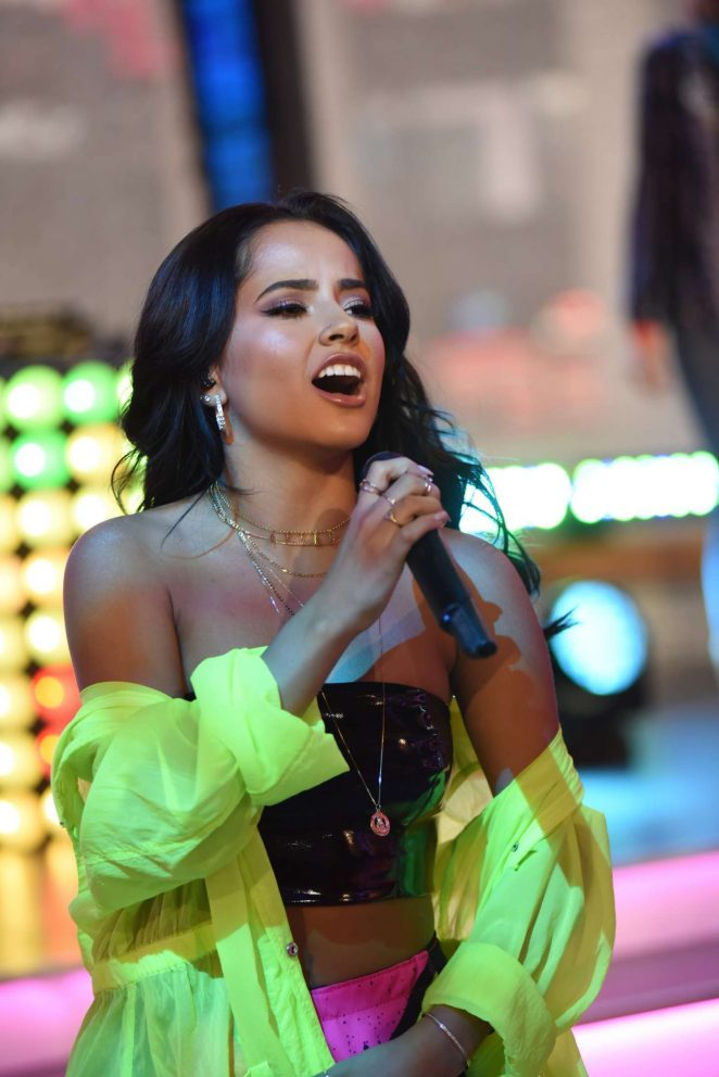 Becky G - Performs at Good Morning America in NYC