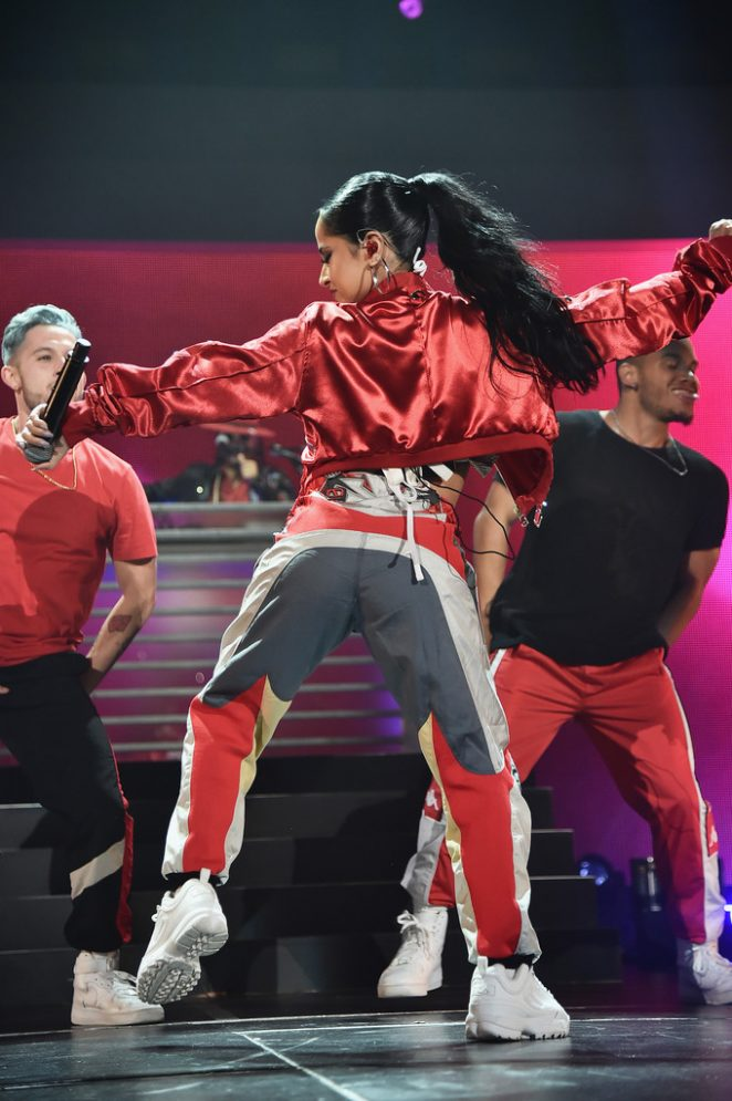 Becky G: Performs at iHeartRadio Fiesta Latina -10