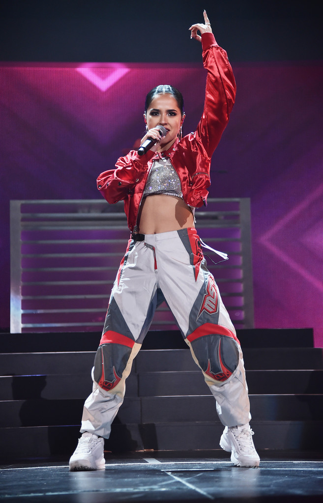 Becky G – Performs at iHeartRadio Fiesta Latina in Miami