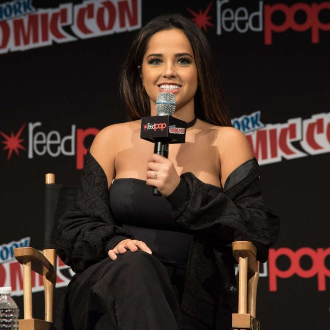 Becky G: Power Rangers Panel at 2016 New York Comic Con -03