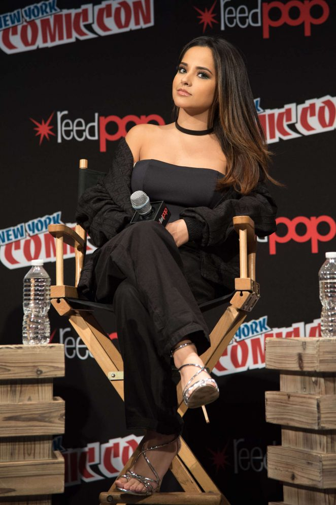 Becky G: Power Rangers Panel at 2016 New York Comic Con -04