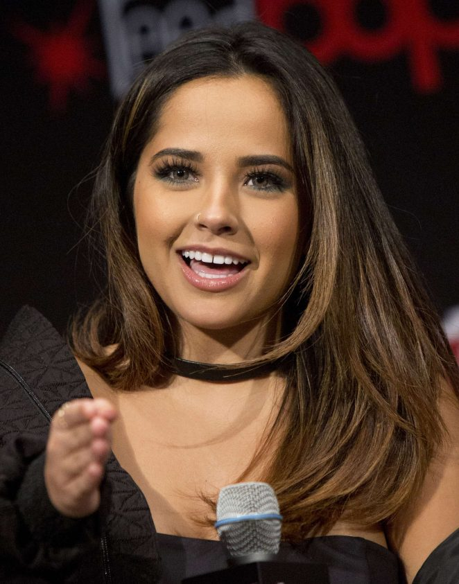Becky G: Power Rangers Panel at 2016 New York Comic Con -07
