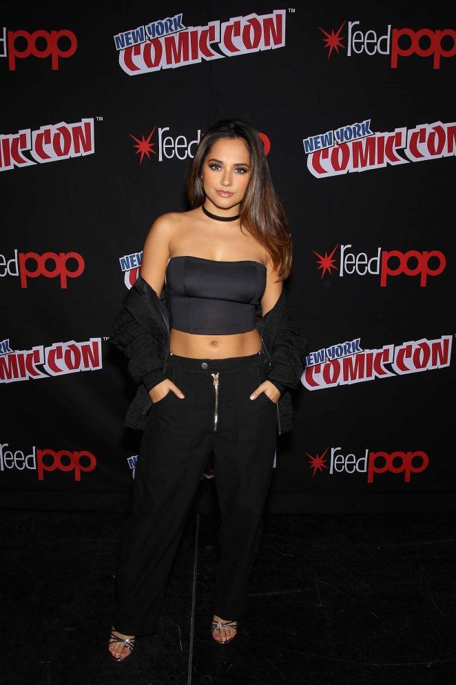 Becky G: Power Rangers Panel at 2016 New York Comic Con -08