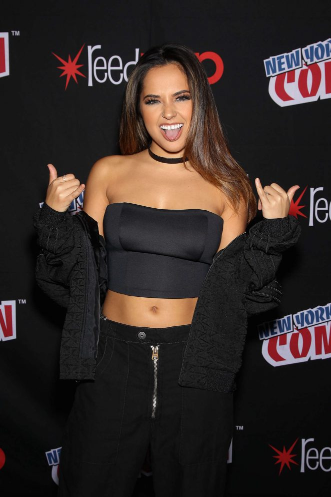 Becky G - 'Power Rangers' Panel at 2016 New York Comic Con