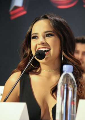 Becky G - 'Power Rangers' Press Conference in Los Angeles