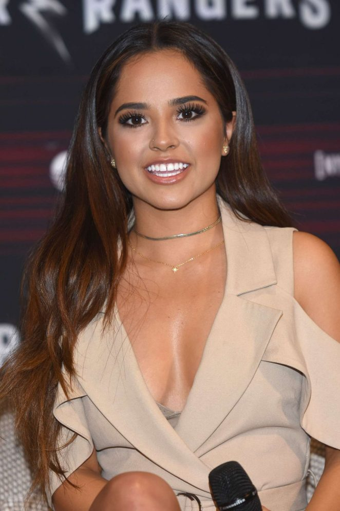 Becky G - 'Power Rangers' Press Conference in Mexico City