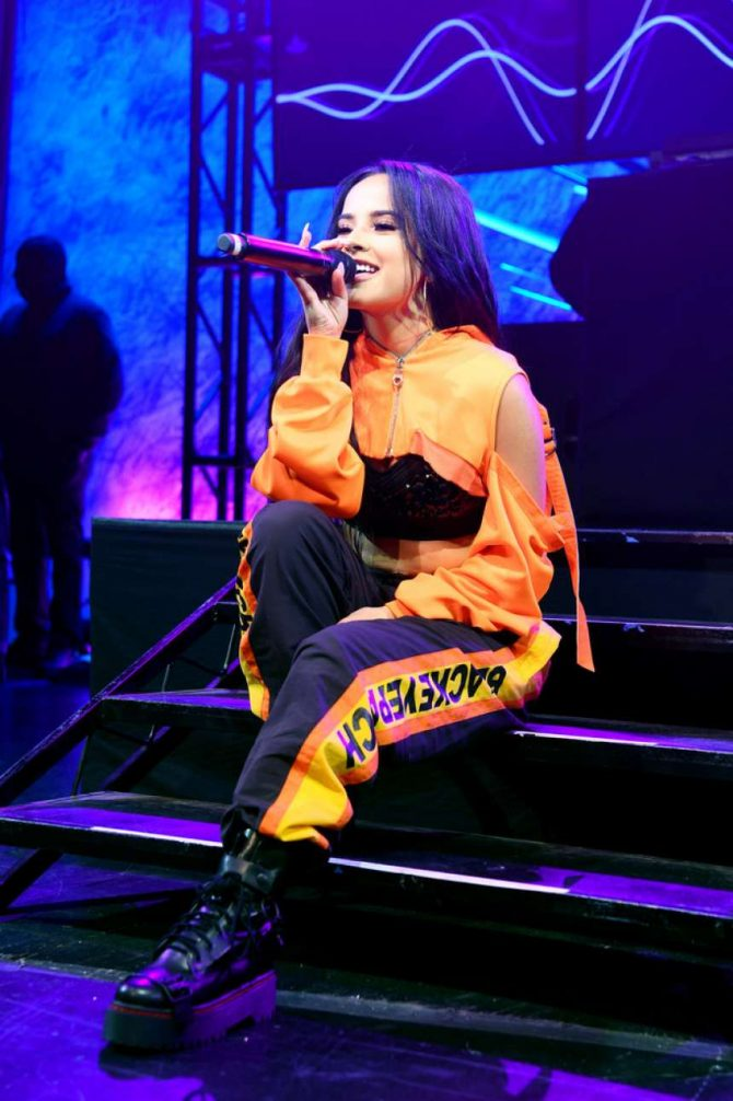 Becky G – Sony's 'Lost in Music' Campaign Finale in NYC