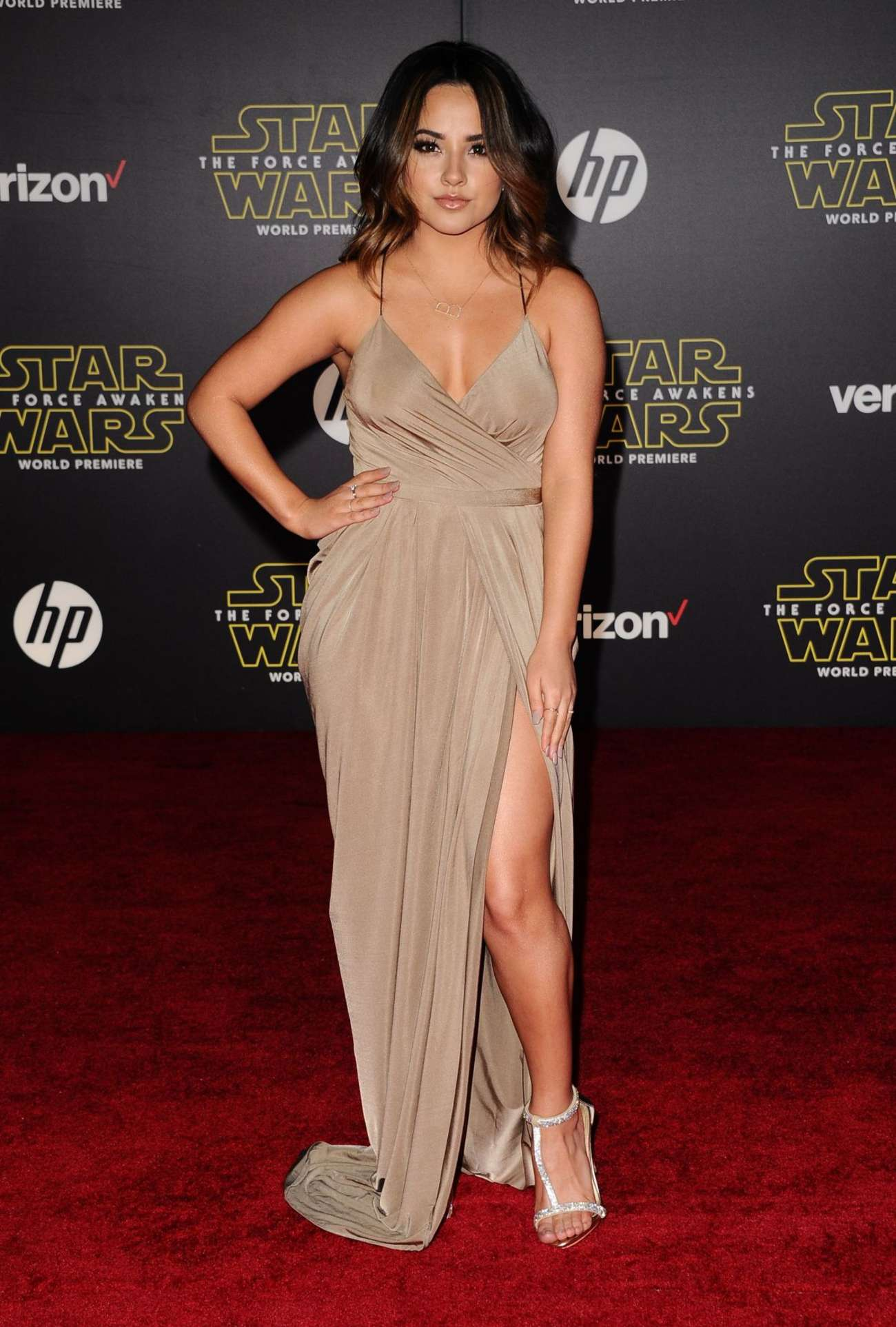 Becky G: Star Wars The Force Awakens Premiere -03