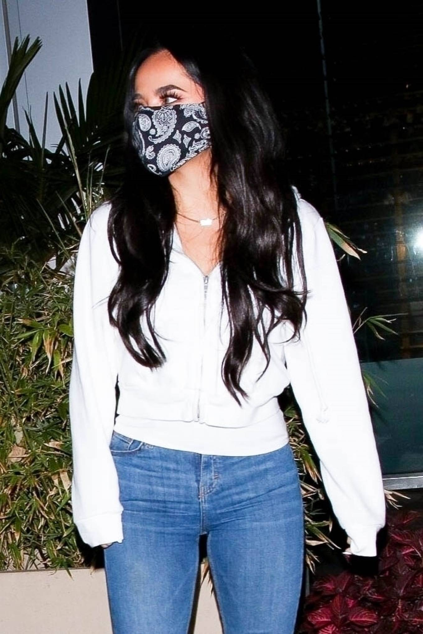 Becky G - Steps out with her boyfriend Sebastian Lletget at BOA Steakhouse in West Hollywood