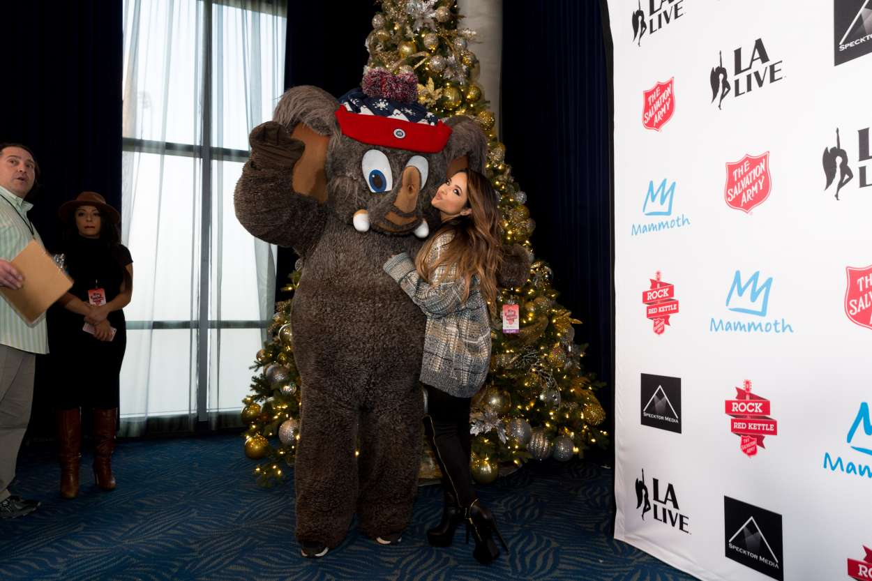 Becky G 2015 : Becky G: The Salvation Army Rock The Red Kettle Concert in Los Angeles-03