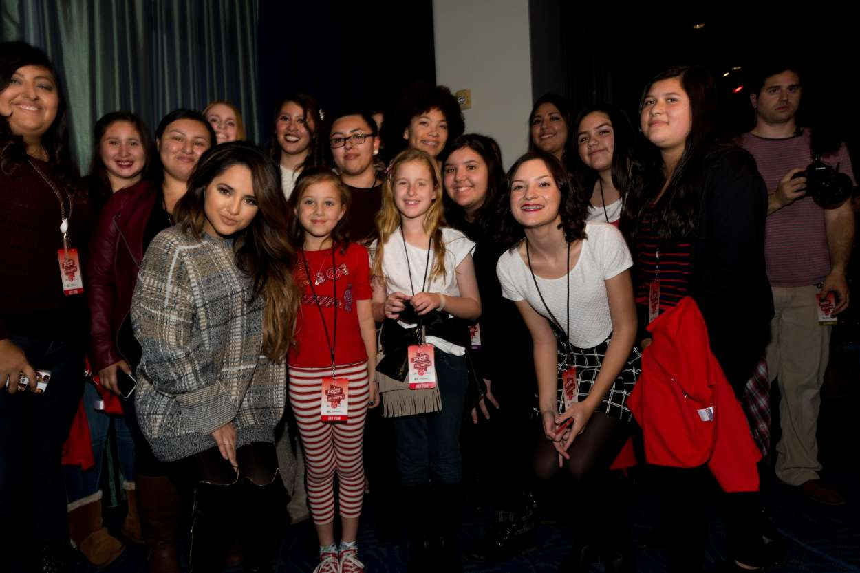 Becky G 2015 : Becky G: The Salvation Army Rock The Red Kettle Concert in Los Angeles-04