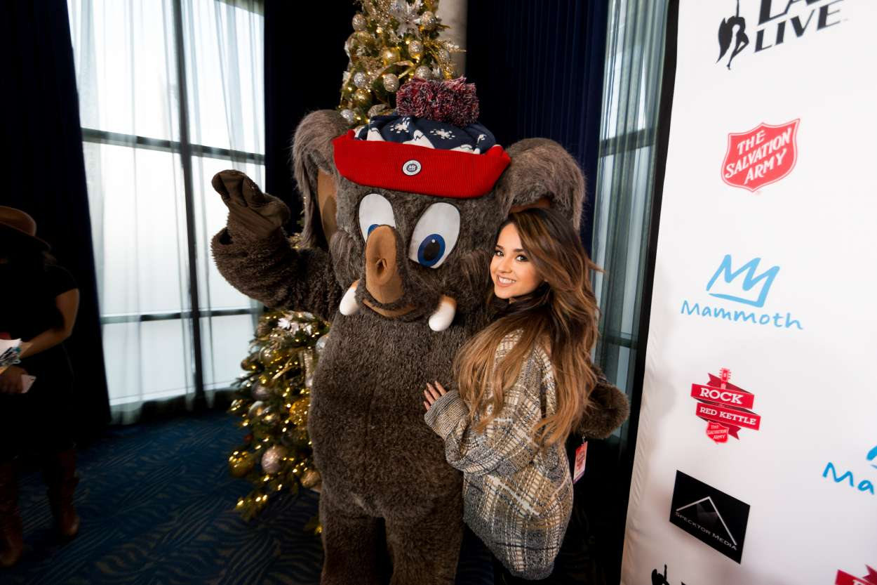 Becky G 2015 : Becky G: The Salvation Army Rock The Red Kettle Concert in Los Angeles-05