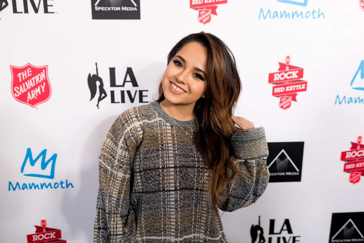 Becky G 2015 : Becky G: The Salvation Army Rock The Red Kettle Concert in Los Angeles-06