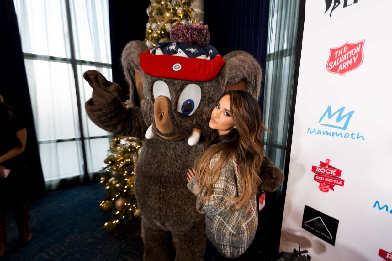 Becky G 2015 : Becky G: The Salvation Army Rock The Red Kettle Concert in Los Angeles-10