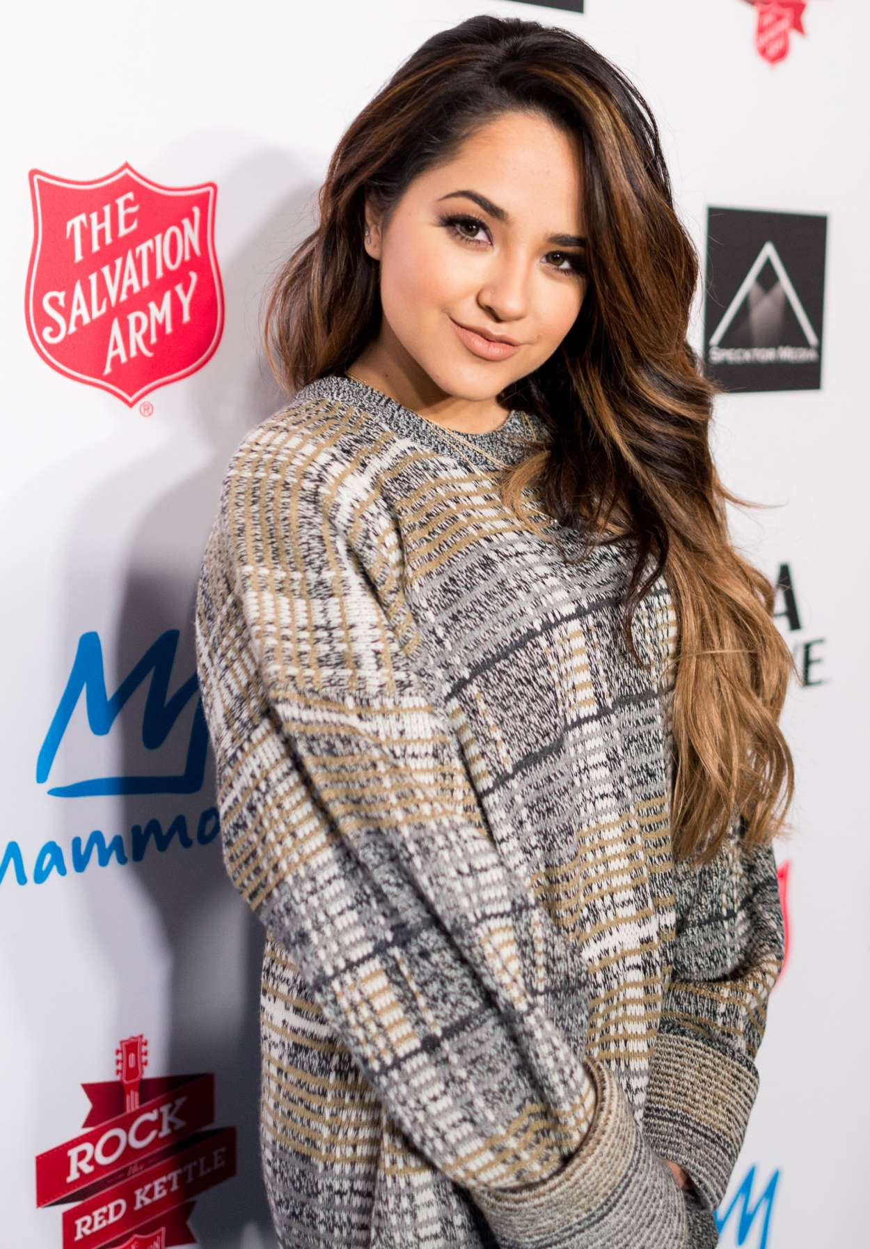 Becky G 2015 : Becky G: The Salvation Army Rock The Red Kettle Concert in Los Angeles-12