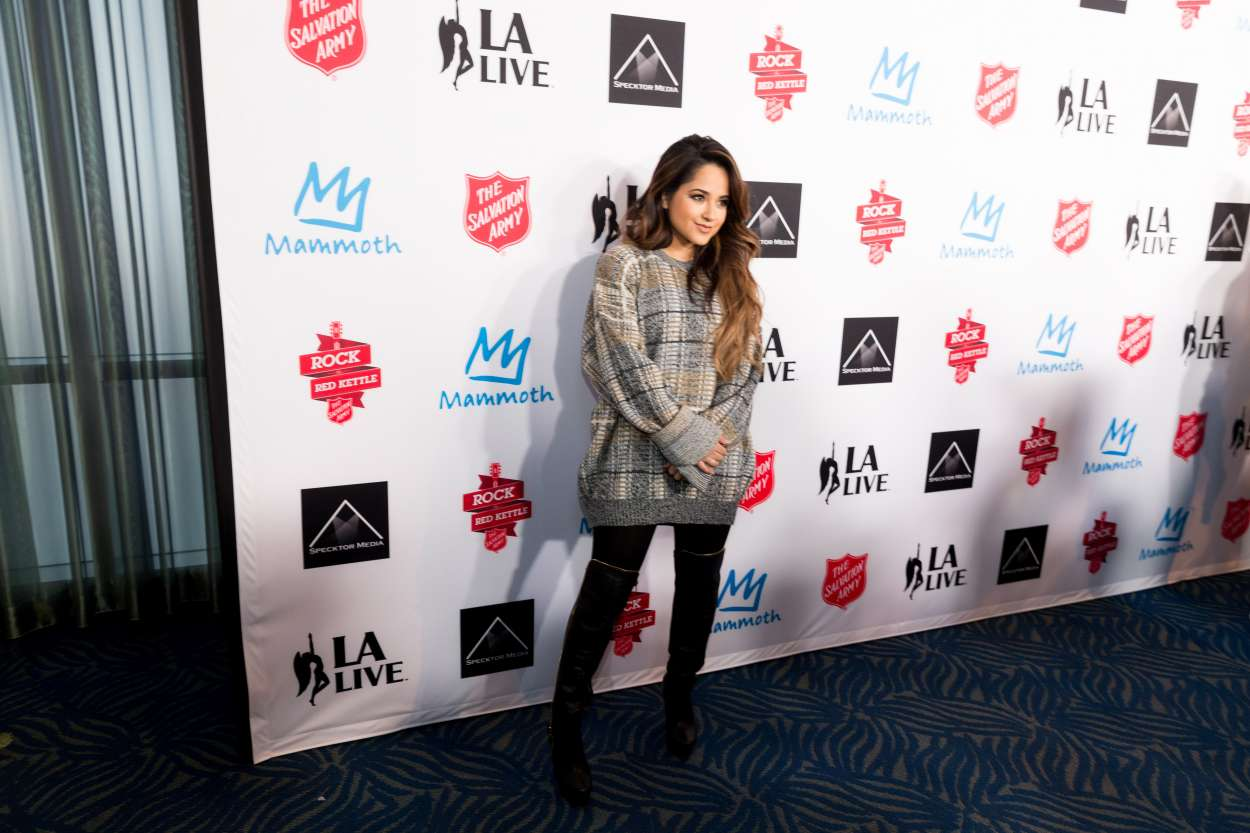 Becky G 2015 : Becky G: The Salvation Army Rock The Red Kettle Concert in Los Angeles-15