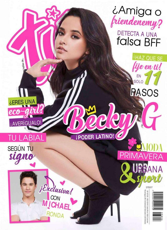 Becky G - TU Magazine (March 2017)