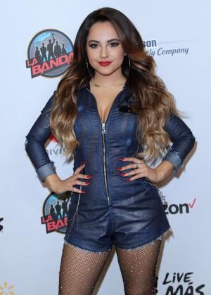 Becky G - Univision's 'La Banda' in Miami