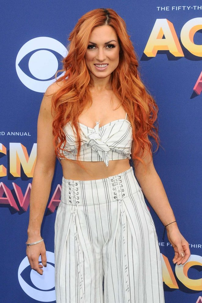 Becky Lynch - 2018 Academy of Country Music Awards in Las Vegas