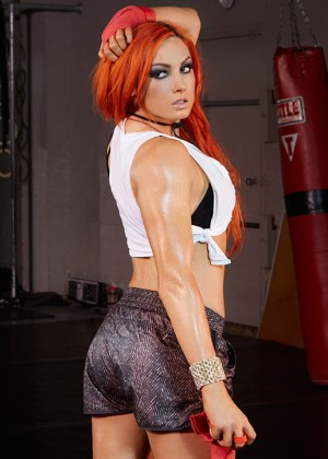 Becky Lynch - WWE Divas Fight Club Photoshoot