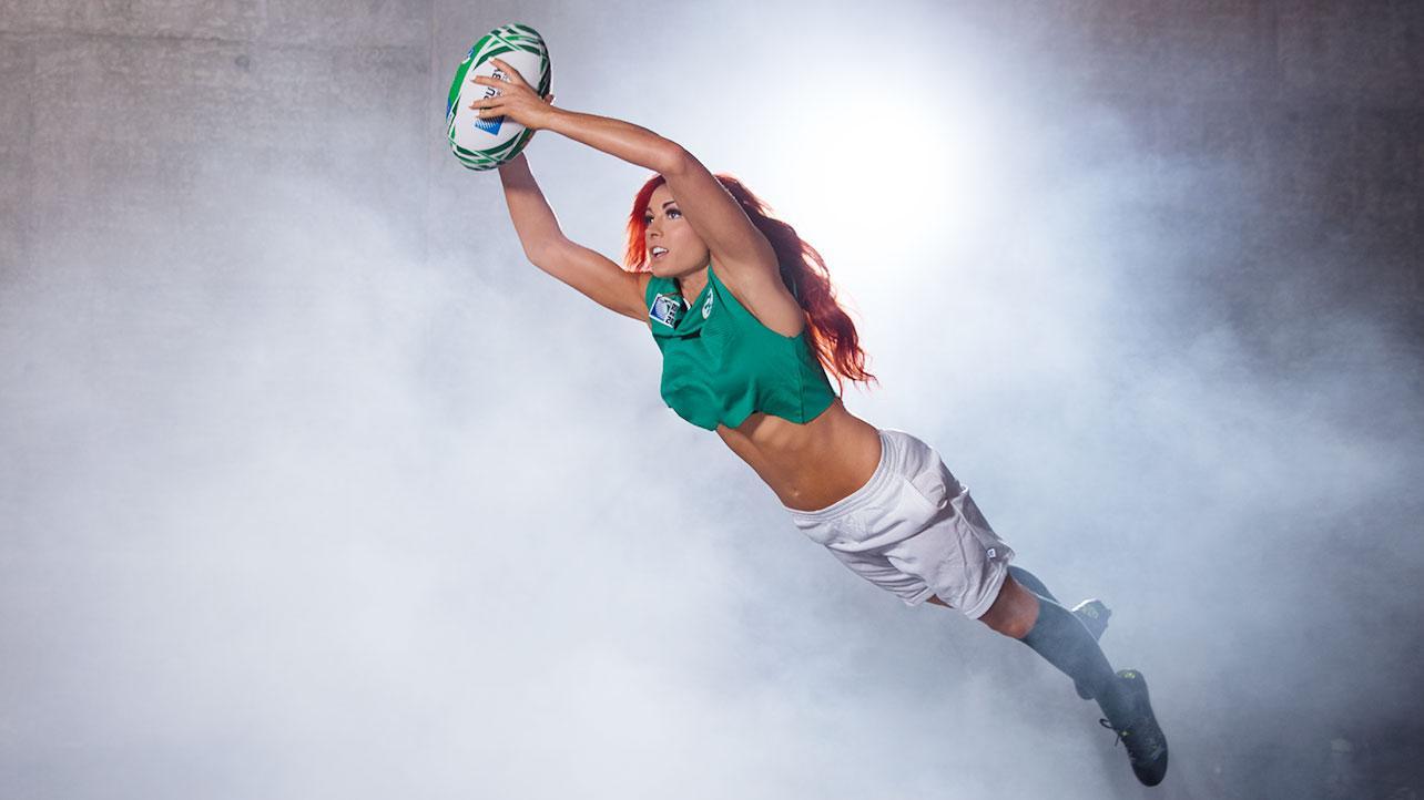 Becky Lynch 2015 : Becky Lynch: WWE Rugby World Cup Divas Shoot 2015 -01