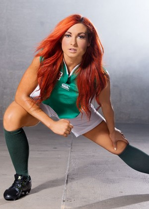 Becky Lynch - WWE Rugby World Cup Divas Photoshoot (September 2015)