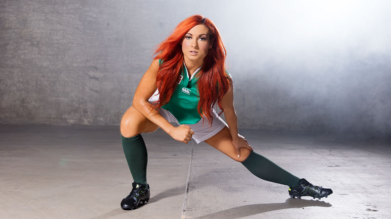 Becky Lynch 2015 : Becky Lynch: WWE Rugby World Cup Divas Shoot 2015 -02