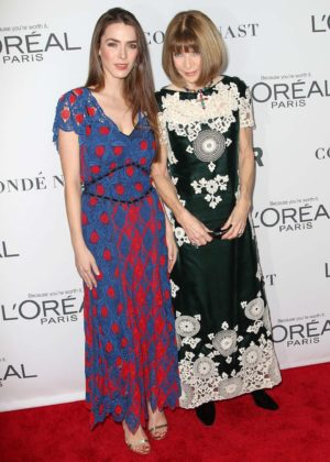 Bee Shaffer and Anna Wintour - 2017 Glamour Women of The Year Awards in NY