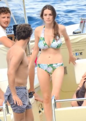 Bee Shaffer - Bikini Candids in Portofino