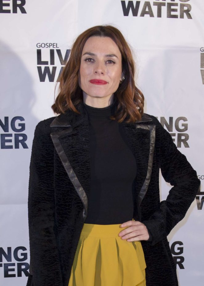 Begona Maestre - 'Living Water' TV Show Photocall in Madrid