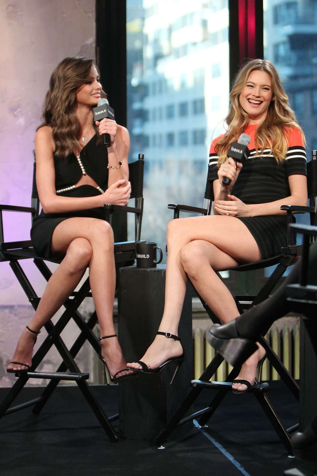 Behati Prinsloo And Taylor Marie Hill Aol Build Series