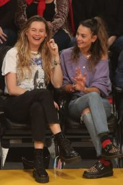 Behati Prinsloo and Whitney Hartley Wagner - Los Angeles Lakers and the Denver Nuggets Game in LA