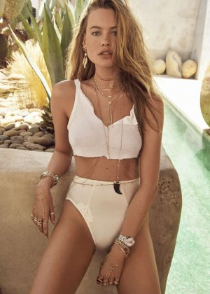 Behati Prinsloo - Jacquie Aiche 2018 Collection