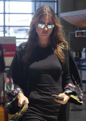 Behati Prinsloo - LAX airport in LA