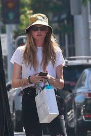 Behati Prinsloo - Leaves a dermatologist office in Beverly Hills