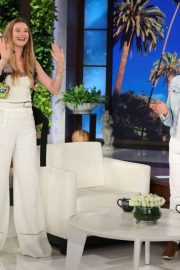 Behati Prinsloo - On 'The Ellen DeGeneres Show' in LA