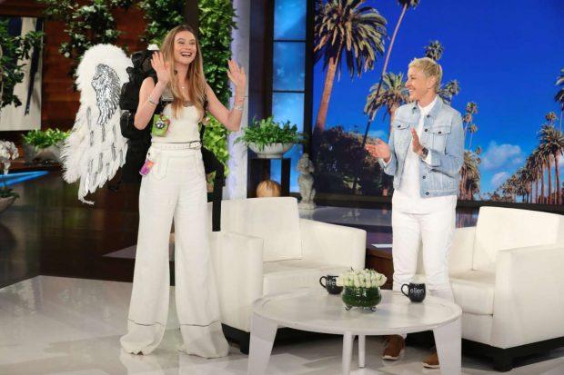 Behati Prinsloo - On 'The Ellen DeGeneres Show' in LA