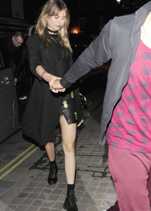 Behati Prinsloo Night Out in London