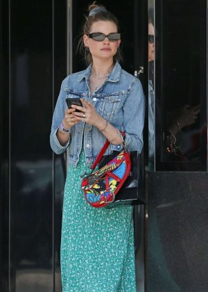 Behati Prinsloo - Out in Los Angeles