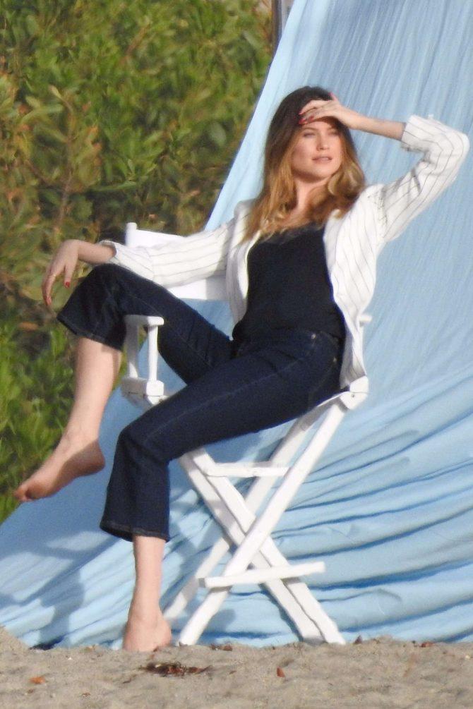 Behati Prinsloo - Photoshoot in Malibu