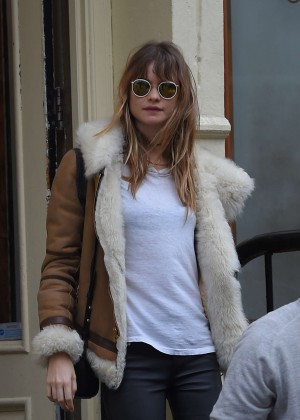 Behati Prinsloo Style - Out in NYC