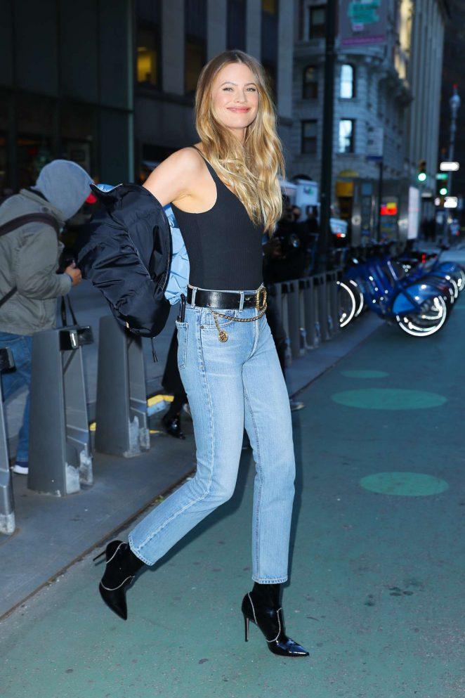 Behati Prinsloo - Victoria's Secret Fashion Show Fittings in New York