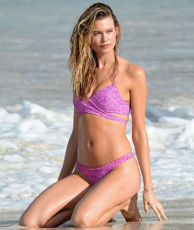 Behati Prinsloo in Bikini - VS Photoshoot in St. Barts