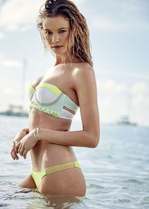 Behati Prinsloo: VS Swim Catalog 2015 -05