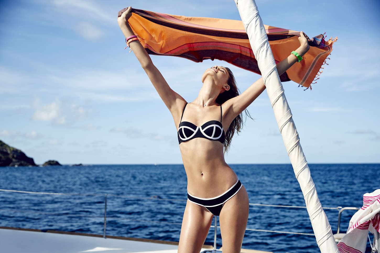 Behati Prinsloo 2015 : Behati Prinsloo: VS Swim Catalog 2015 -15