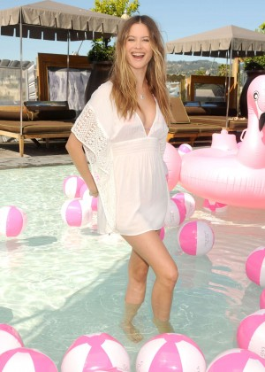 Behati Prinsloo - Victoria's Secret Swim Collection Launch 2016 in Beverly Hills