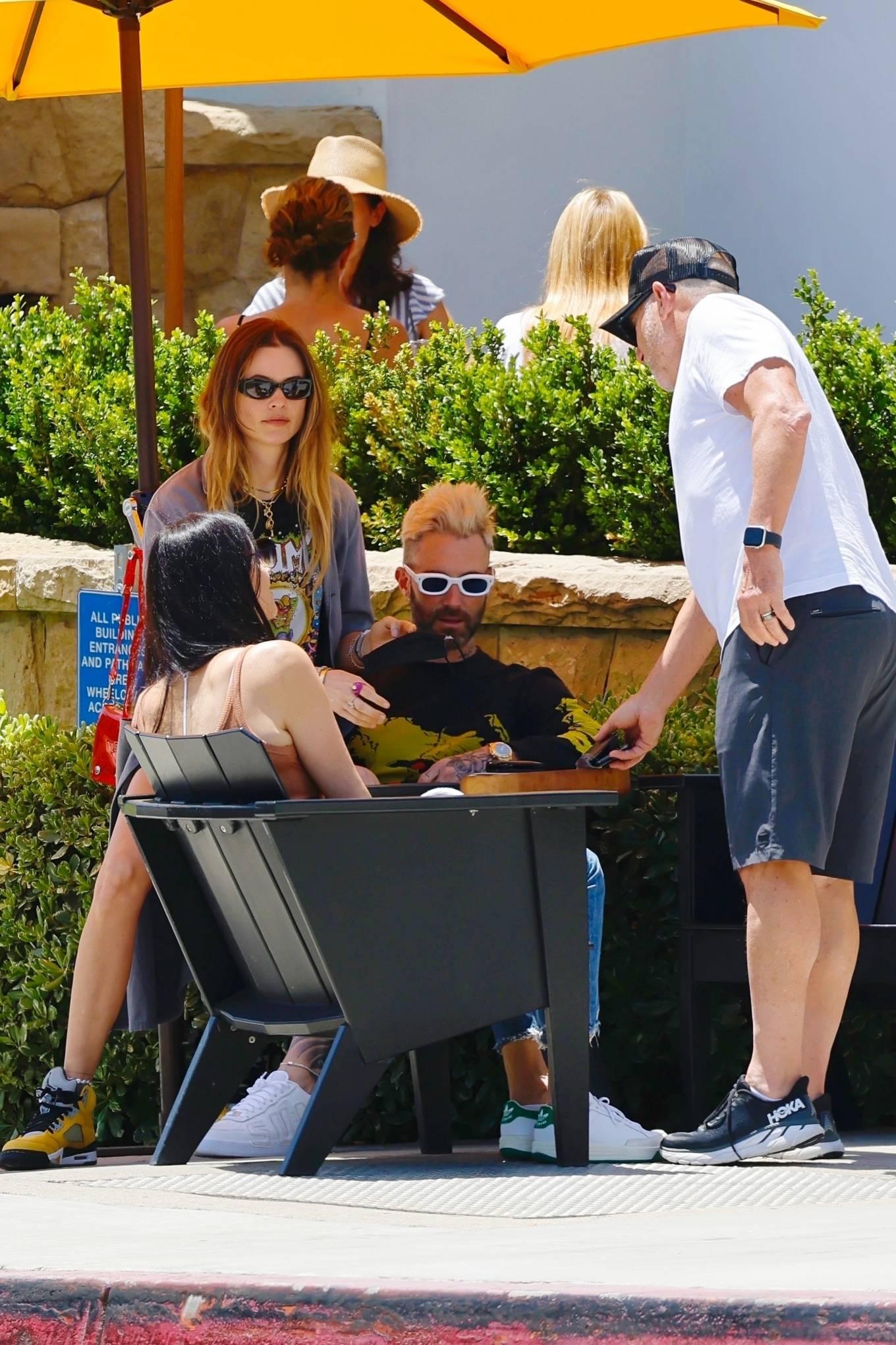 Behati Prinsloo 2021 : Behati Prinsloo – With Adam Levine seen on Montecino-06