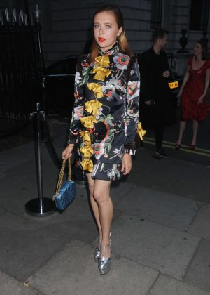 Bel Powley at Gucci Party in London