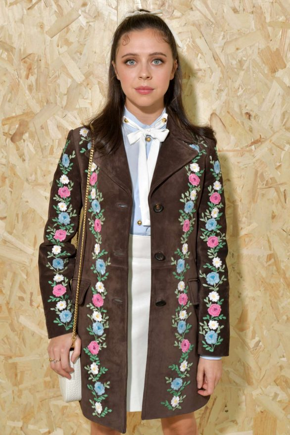 Bel Powley - Miu Miu Show SS 2020 at Paris Fashion Week