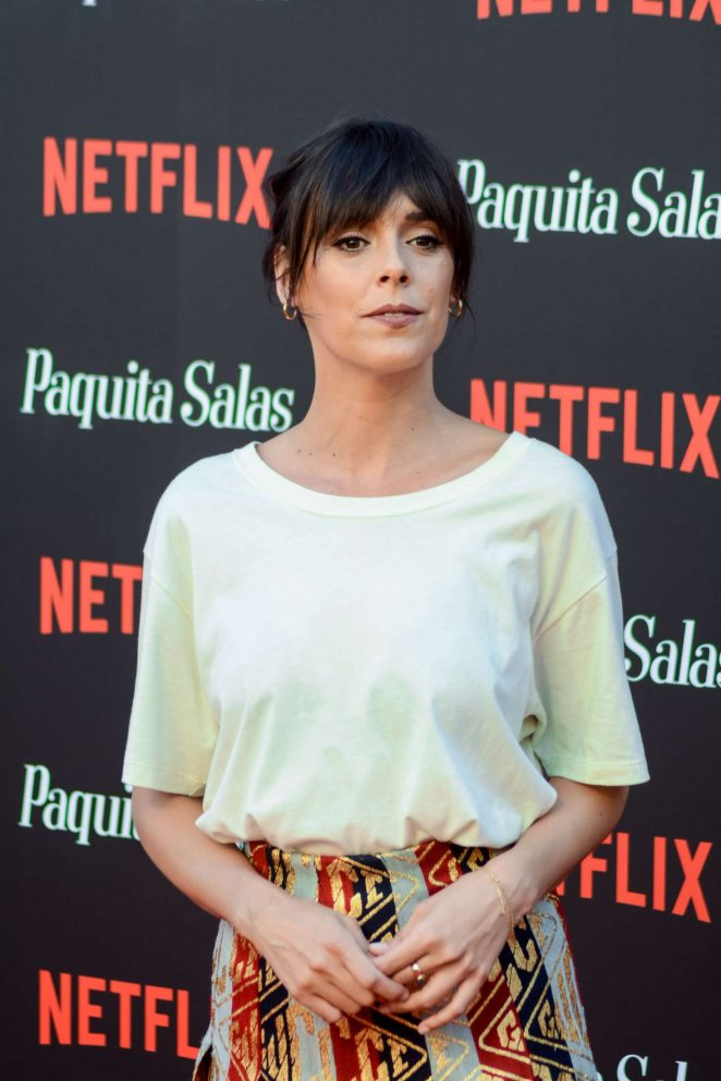 Belen Cuesta - 'Paquita Salas' Premiere in Madrid